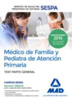 Eldeportedealbacete.es Medico De Familia Y Pediatra De Atencion Primaria Del Servicio De Salud Del Principado De Asturias: Test Parte General Image