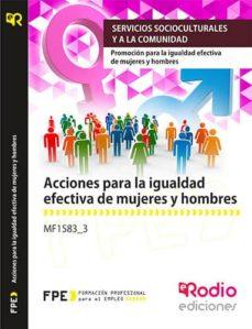 Cronouno.es Mf1583_3 Acciones Para La Igualdad Efectiva De Mujeres Y Hombres Image