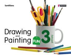 3 primaria drawing & painting fun student book +cd ed08-9788429477696
