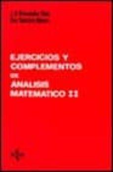 Permacultivo.es Ejercicios Y Complementos De Analisis Matematico (T.2) (2ª Ed.) Image