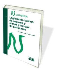 Carreracentenariometro.es Legislacion Basica De Seguros Y Planes Y Fondos De Pensiones: Nor Mativa 2010 Image