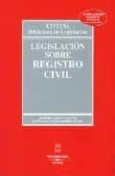 Iguanabus.es Legislacion Sobre Registro Civil (24ª Ed.) Image