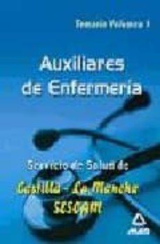 Eldeportedealbacete.es Auxiliares De Enfermería Del Servicio De Salud De Castilla-la Man Cha (Sescam): Temario (Vol. I) Image