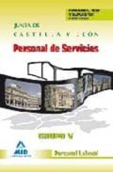 Javiercoterillo.es Personal De Servicios. Grupo V. Personal Laboral De La Junta De C Astilla Y Leon. Funciones, Test Y Supuestos Practicos Image
