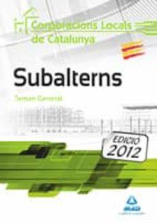 Inmaswan.es Subalterns De Corporacions Locals De Catalunya. Temari General Image