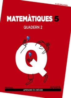 Inmaswan.es Matemàtiques 5. Quadern 2. 5º Tercer Ciclo Image
