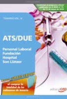 Inmaswan.es Ats/due Personal Laboral Fundacion Hospital Son Llatzer. Temario Vol.iii Image