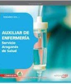 Javiercoterillo.es Auxiliar De Enfermeria Servicio Aragones De Salud. Temario Vol. I . Image