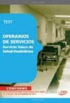 Cronouno.es Operarios De Serviciodel Servicio Vasco De Salud-osakidetza Image