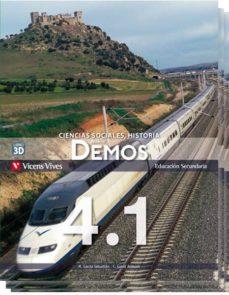 Costosdelaimpunidad.mx Nuevo Demos 4º Eso Libro 1, 2, 3 Y Separata Aragón Image