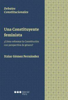 una constituyente feminista: ¿como reformar la constitucion con perspectiva de genero?-itziar gómez fernández-9788491234296