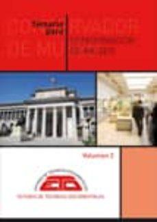 Inmaswan.es Temario Para Conservador De Museo. Volumen 2: Patrimonio Artistic O Y Cientifico Tecnico, Arqueologia Y Patrimonio Artistico Militar (4ª Ed.) Image