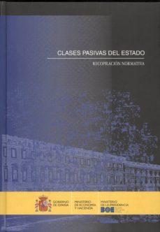 Inmaswan.es Clases Pasivas Del Estado: Recopilacion Normativa Image