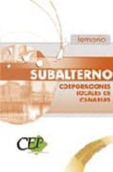 Followusmedia.es Subalterno Corporaciones Locales De Canarias. Temario Image