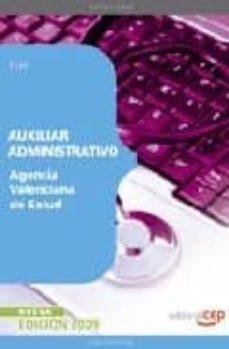 Cronouno.es Auxiliar Administrativo Agencia Valenciana De Salud. Test Image