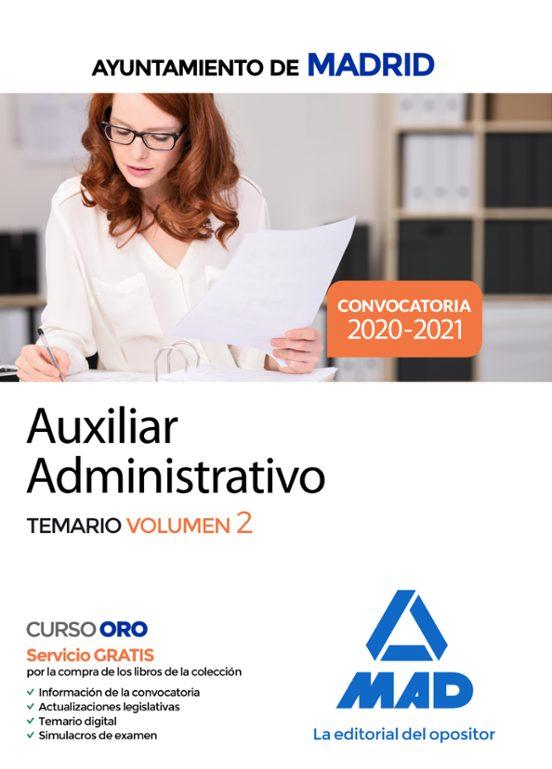 libros oposiciones auxiliar administrativo pdf