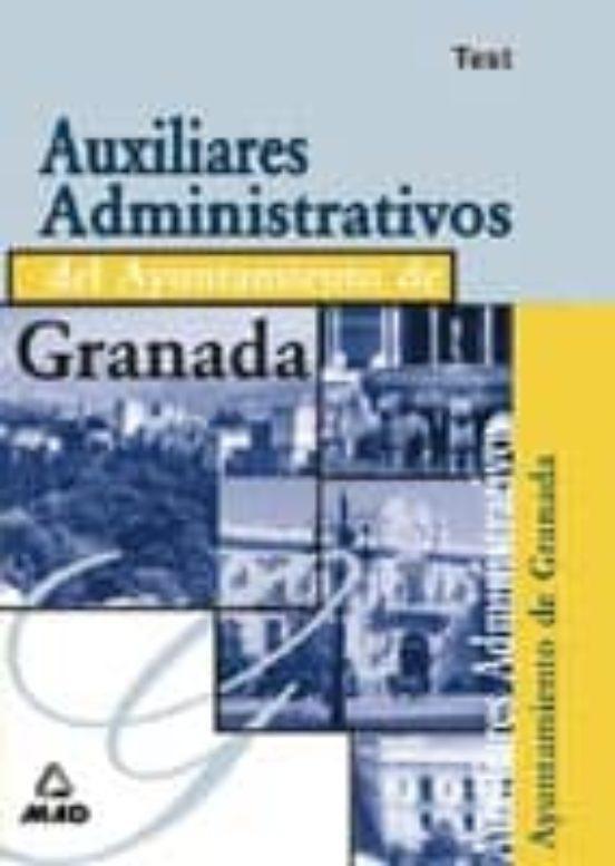 AUXILIARES ADMINISTRATIVOS DEL AYUNTAMIENTO DE GRANADA: TEST