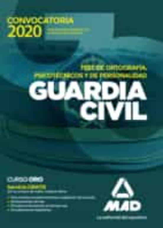 GUARDIA CIVIL. TEST DE ORTOGRAFIA, PSICOTECNICOS Y DE PERSONALIDAD
