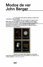 modos de ver-john berger-9788425228926