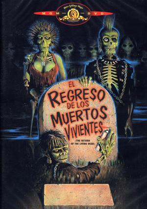 el regreso de los muertos vivientes (dvd)-8420266994325