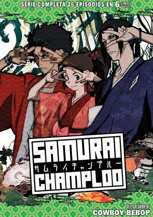 samurai champloo (dvd)-8414533074322