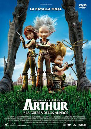arthur y la guerra de los mundos (dvd)-8435153711985