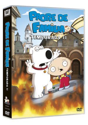 padre de familia: 11 temporada (dvd)-8420266965431