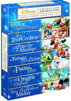 pack 7 dvd walt disney coleccion cortos clasicos (dvd)-8717418373009