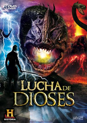 lucha de dioses (dvd)-8421394540484