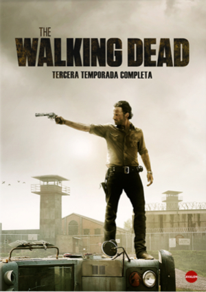 the walking dead: tercera temporada completa (dvd)-8436540903648
