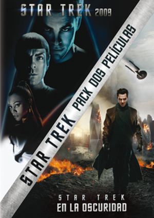 star trek (2009) + star trek en la oscuridad (dvd)-8414906208910