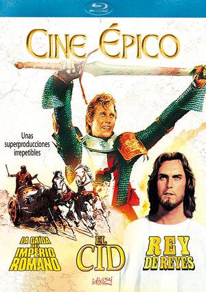 el cid + la caida del imperio romano + rey de reyes (blu-ray)-8421394401495