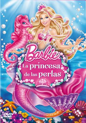 barbie: la princesa de las perlas (dvd)-8414906777133