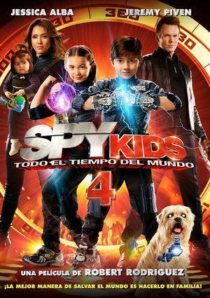 spy kids 4. todo el tiempo del mundo (dvd)-8420266979537
