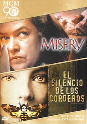 misery + el silencio de los corderos (dvd)-8420266970664