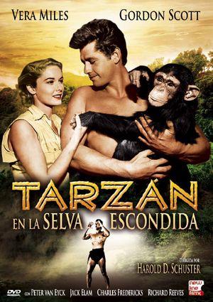 tarzan en la selva escondida (dvd)-8436532912405