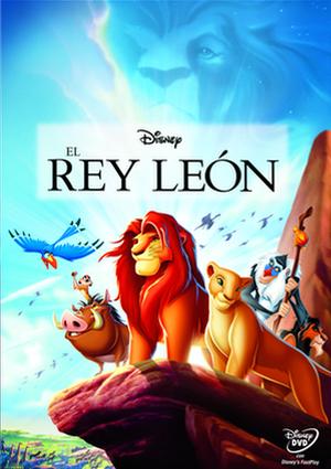 el rey leon (dvd)-8717418432287