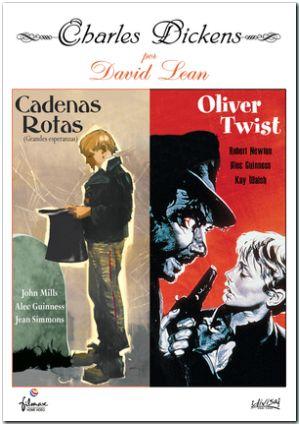 david lean/ charles dickens: cadenas rotas + oliver twist (dvd)-8421394500839