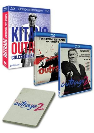 pack kitano: outrage + outrage 2 (blu-ray)-8437012592643