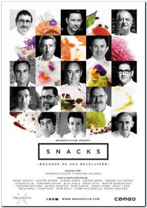 snacks. bocados de una revolucion (dvd)-8436540908421