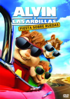 alvin y las ardillas fiesta sobre ruedas (dvd)-8420266976543