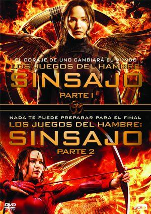 Pack Los Juegos Del Hambre Sinsajo 1 2 Dvd De 8435175970117