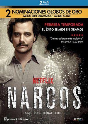 narcos: temporada 1 (blu-ray)-8435153753442