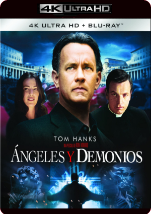 angeles y demonios (4k uhd+blu-ray)-8414533101189