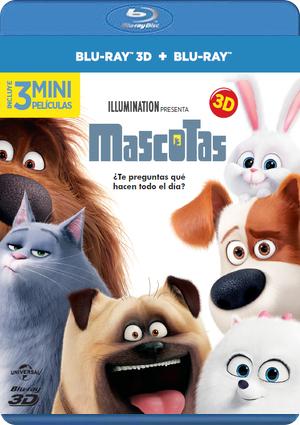 mascotas (blu-ray 3d+2d)-8414533101813
