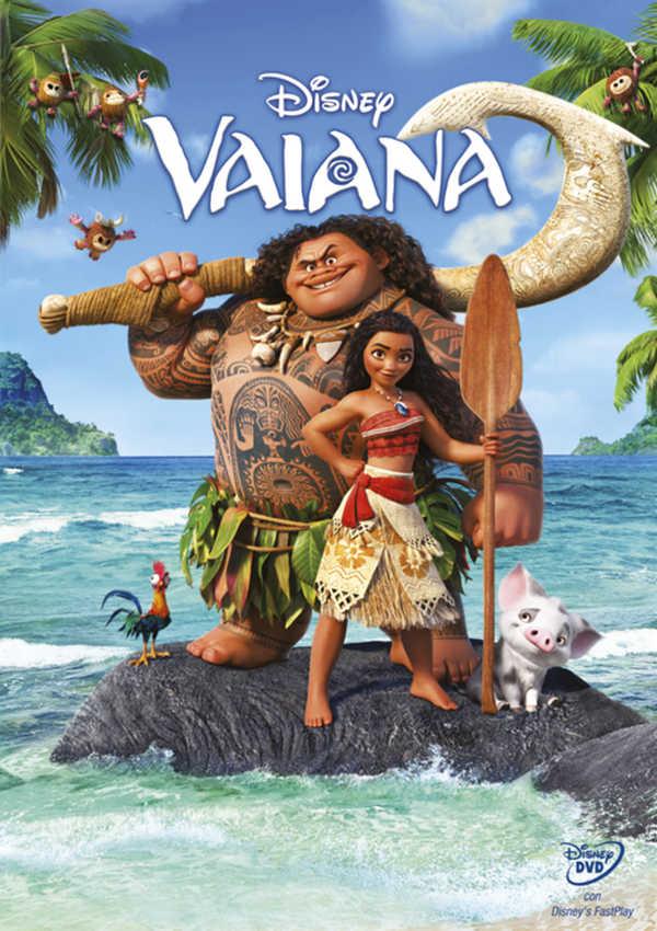 vaiana (dvd)-8717418498047