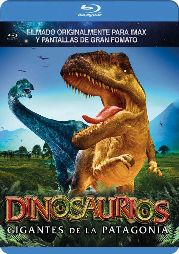 dinosaurios: gigantes de la patagonia - blu ray --8436569300640
