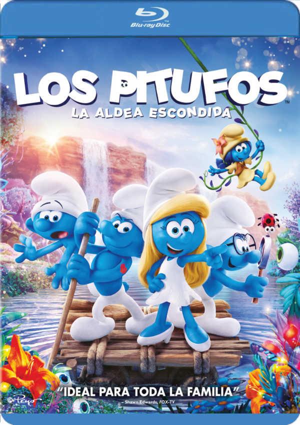 los pitufos: la aldea escondida - blu ray --8414533106207