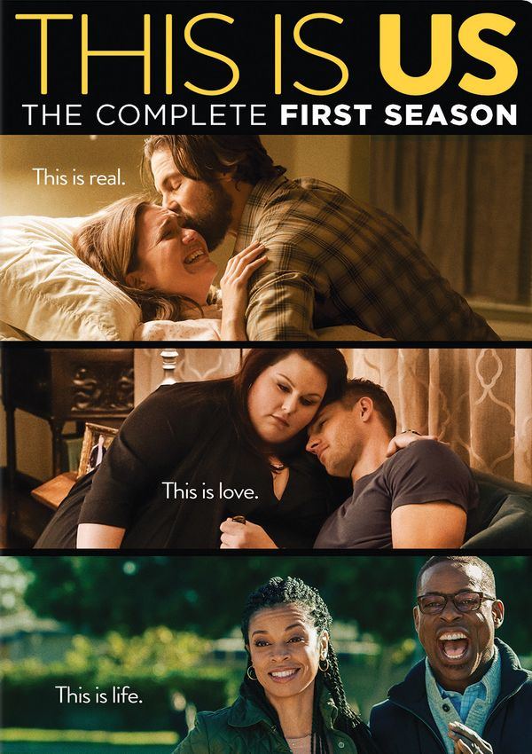 this is us - dvd - temporada 1-8420266010445