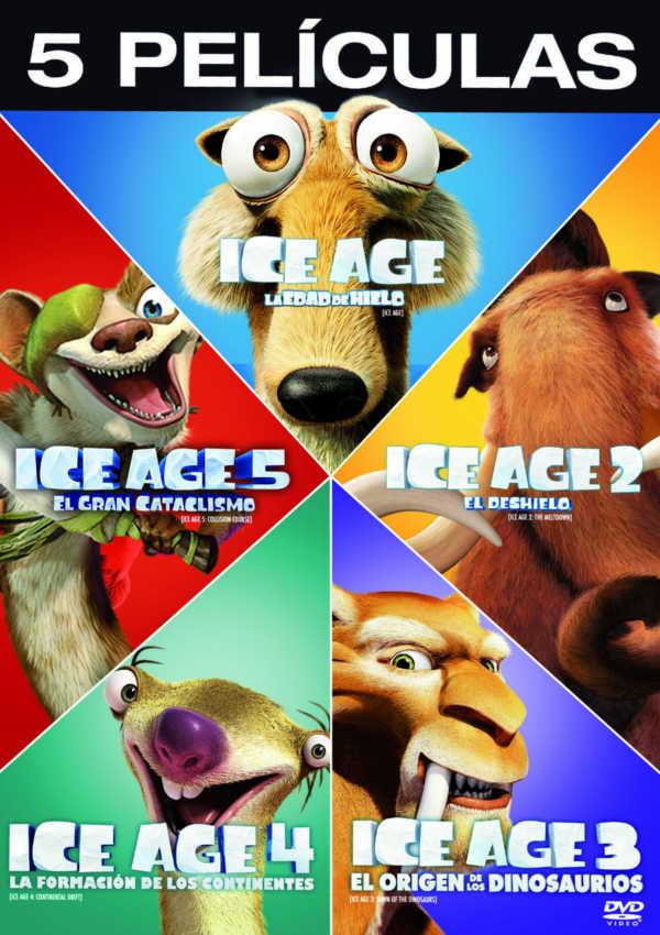ice age 1-5 - dvd --8420266011381